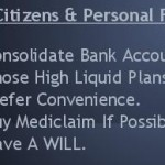 Senior Citizens & Personal Finance: